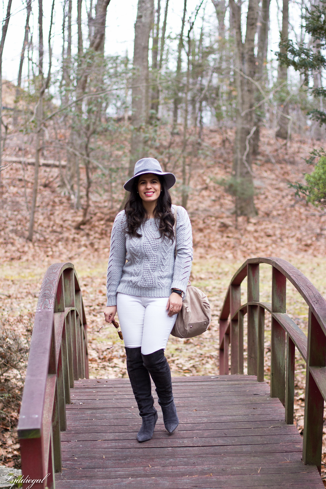 grey sweater, white jeans, over the knee boots-2.jpg