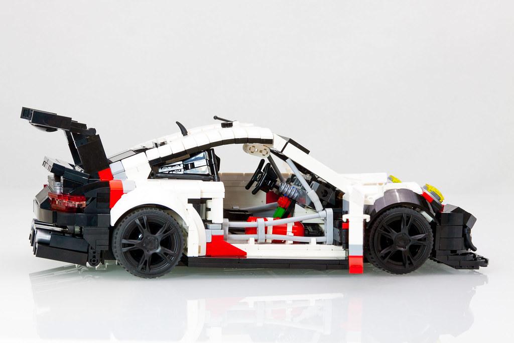 lego porsche 911 rsr 991 2 2017 engine 4 0 b6 normally flickr. Black Bedroom Furniture Sets. Home Design Ideas