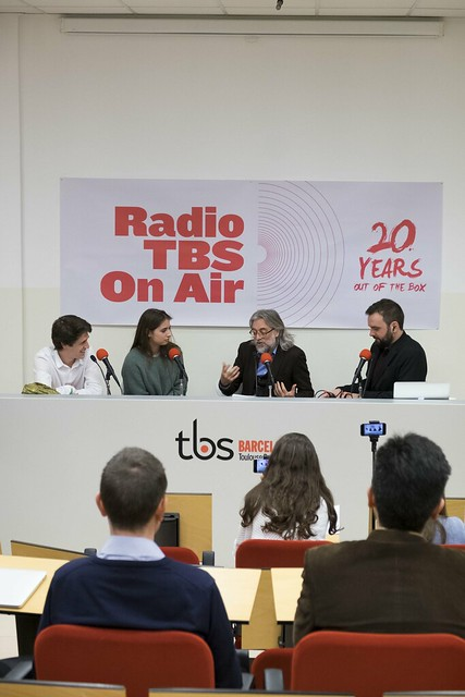Víctor Amela - TBS on Air