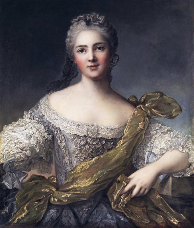 Jean-Marc Nattier - Portrait der Victoire de France (c.1750)