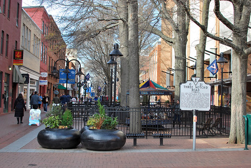 downtown mall.