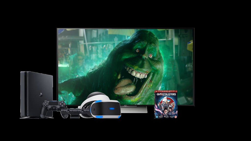 PS VR 3D Blu-Ray