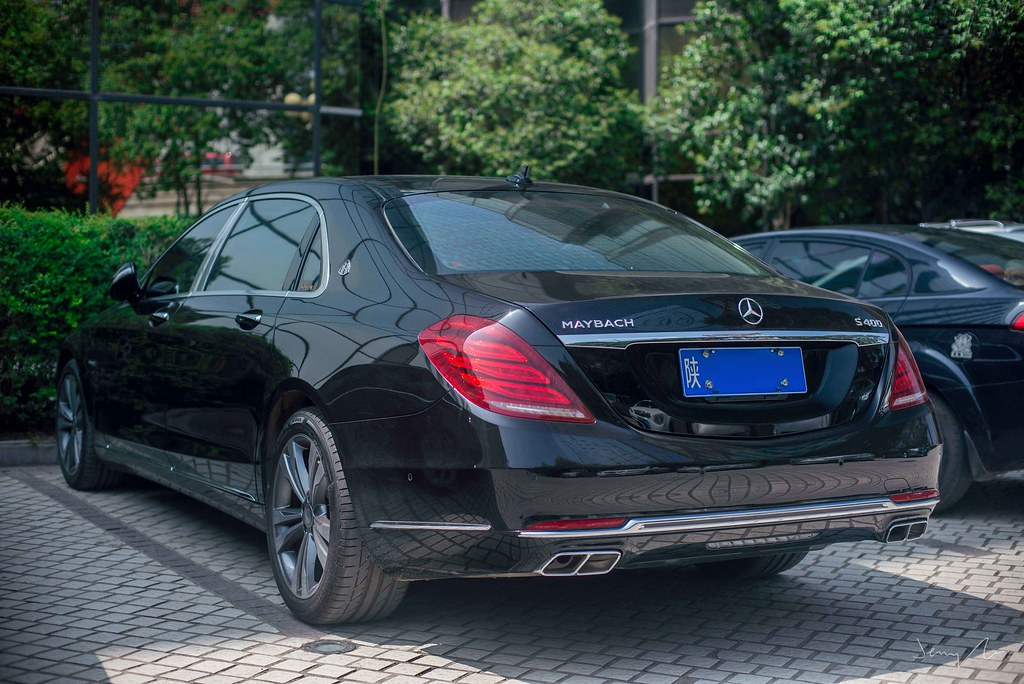 mercedes-maybach s400 | jerry gu | flickr