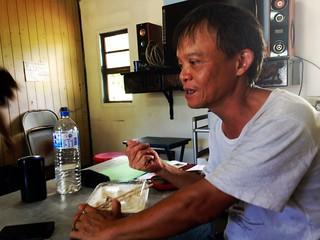 米農該發起人賴萌宏說:「生態優先是我務農的原則。」攝影:廖靜蕙