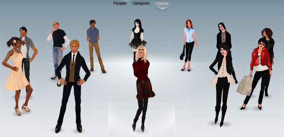 Second Life: New Avatars!   chrisupi007's blog