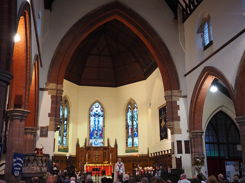 Licensing Service at St James, Barrow-in-Furness on 21st Nov 2015