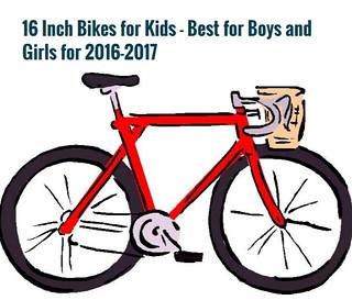 16 Inch Bikes for Kids – Best for Boys and Girls for 2016-2017 – Tackk