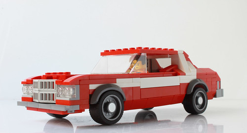 Ford Gran Torino from Starsky & Hutch (with instructions)