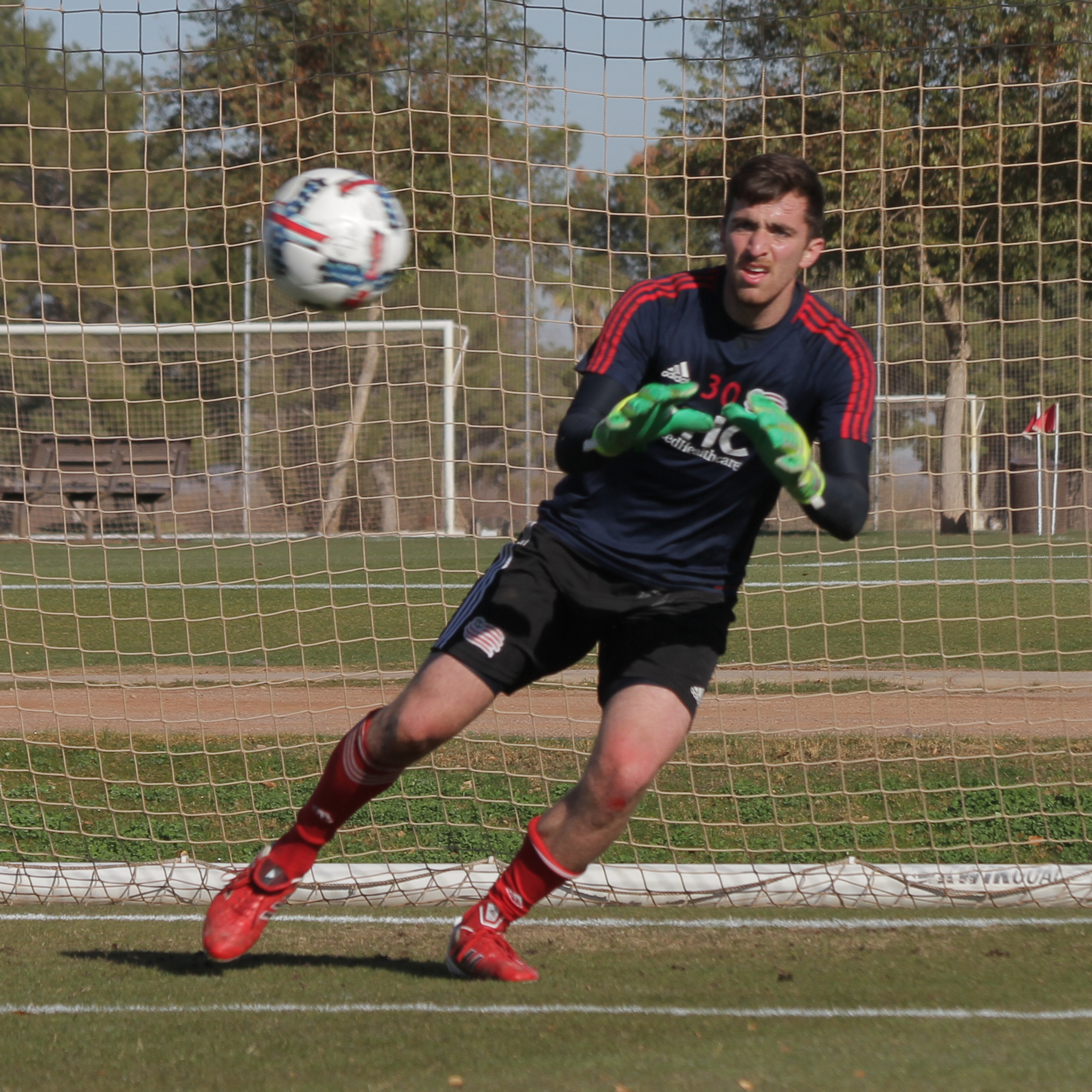 2017 Preseason: Casa Grande, AZ - Preseason Game 1, New England Revolution vs. Minnesota United FC