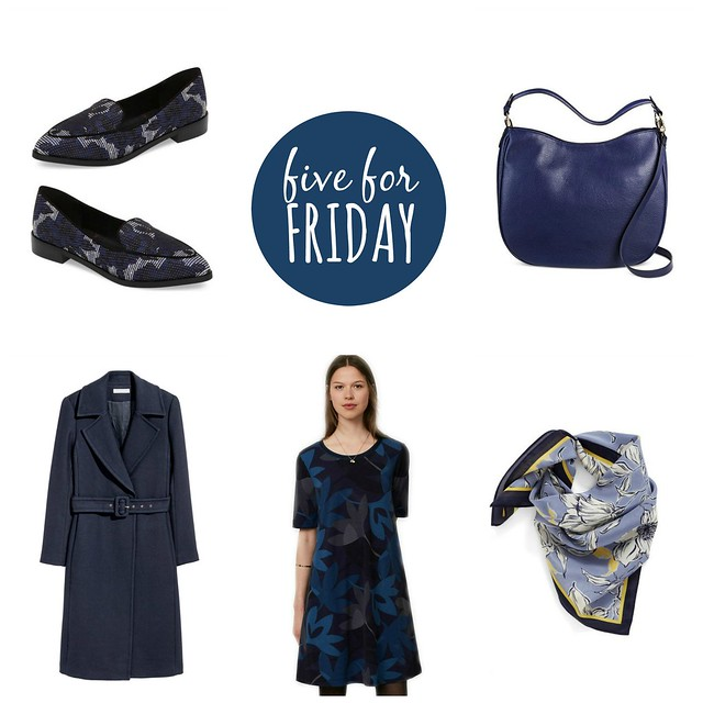 five for friday winter blues | Style On Target blog
