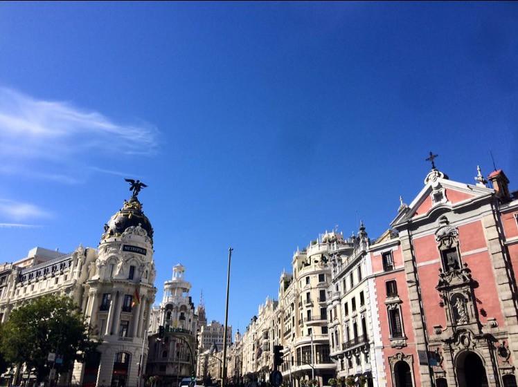 El centro de Madrid por María Borrachero
