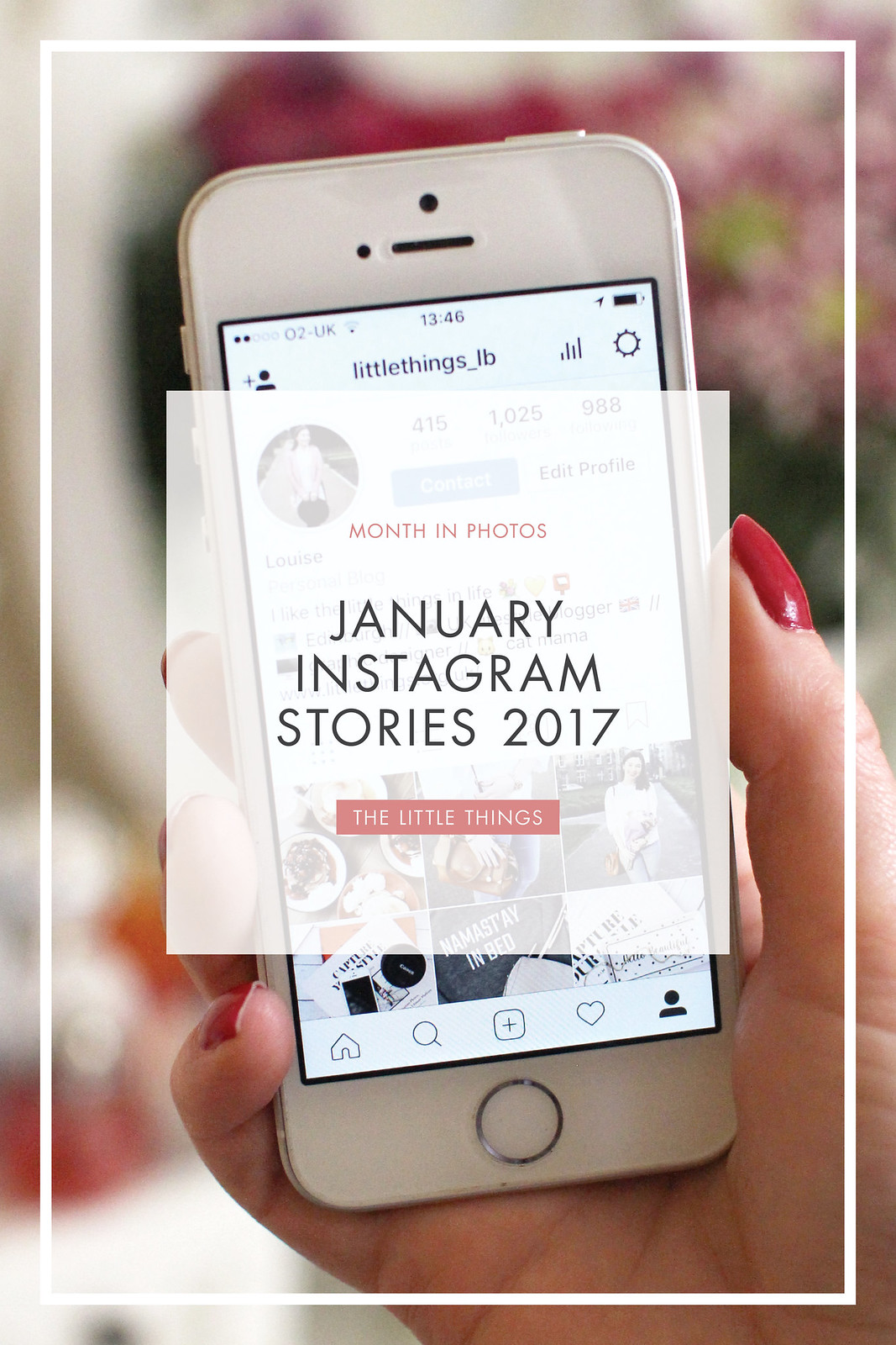january 2017 instagram stories the little things