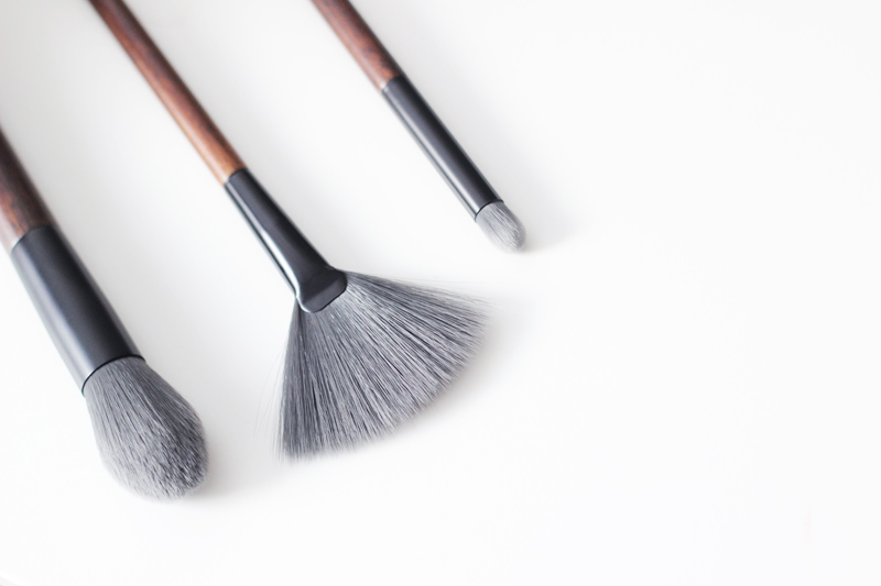 The Body Shop Vegan Brushes - Pointed Highlighter, Fan & Crease