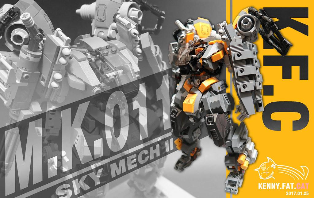 【肥貓˙重工】人型機甲M.K.-011 Sky Mech II 飛行機甲II