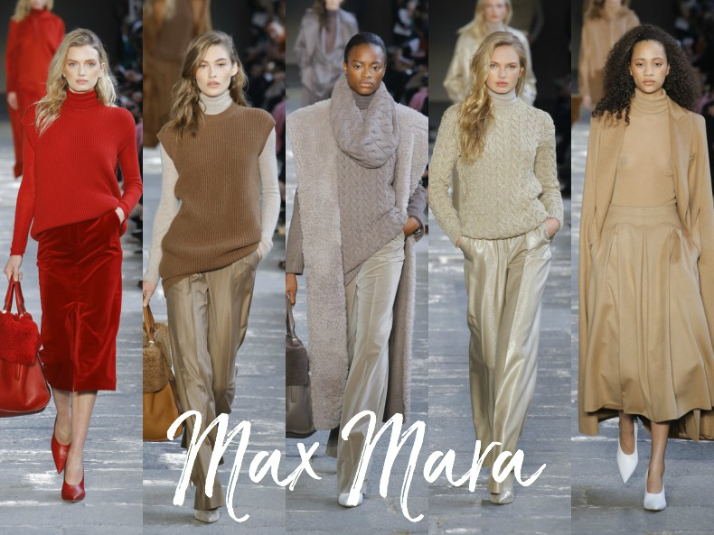 maxmara aw17 fashion show