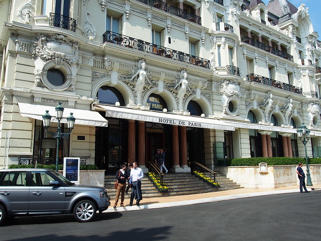 Hotel de Paris in Monte Carlo where Vaslav always stayed. From The Chosen Maiden: Bronia Nijinska and Modern Dance