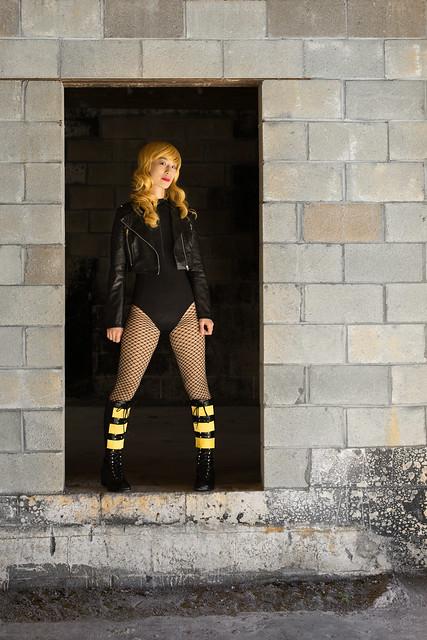 Black Canary Photo Shoot