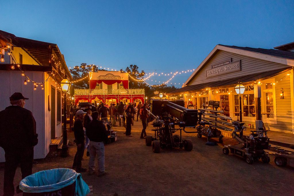 Westworld at Paramount Ranch
