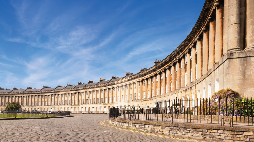 Bath is a modern city with a rich history and holds UNESCO World Heritage status.