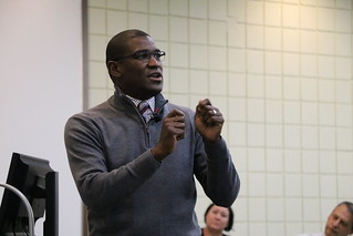 Kellogg Foundation's Aranthan Jones Visits UMD SPH