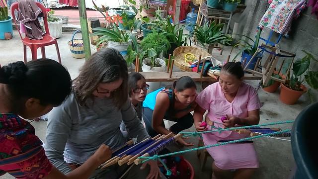 backstrap weaving class guatemala