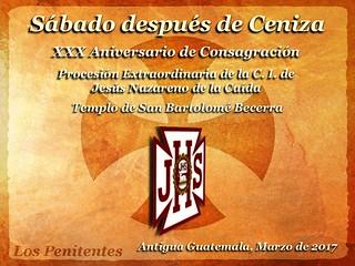 Sábado Después de Ceniza, 30 Aniversario San Bartolo