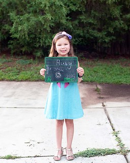 Ruby 1st day of 1st grade 2015-16 | by thelucaszoo
