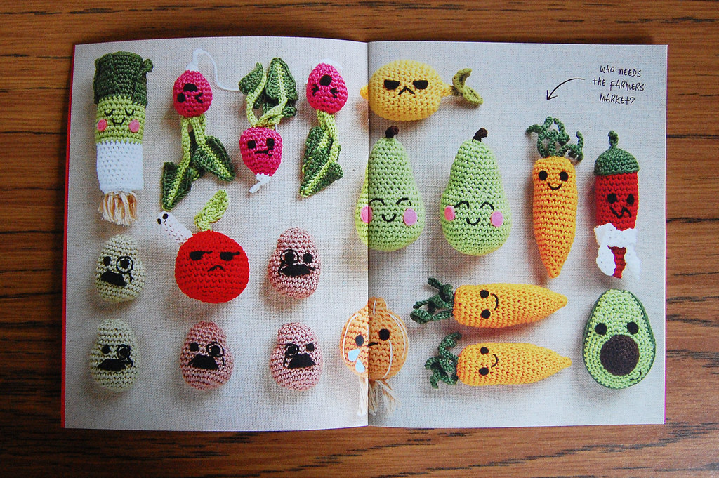 Amigurumi Harvest Commissioned Designs For Free Booklet Th Flickr