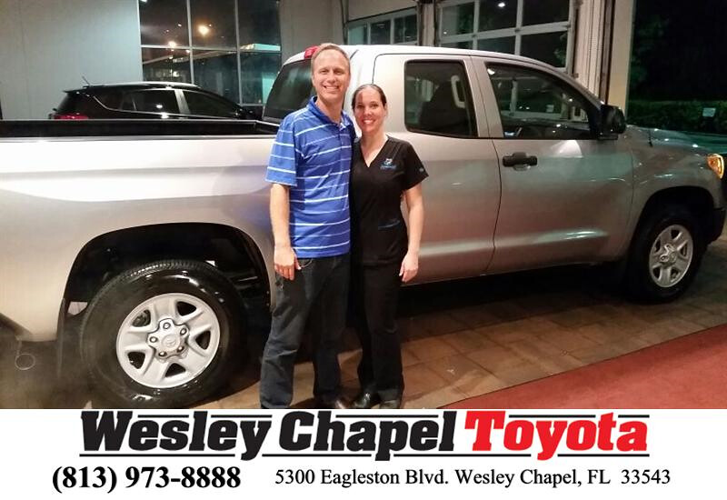Congratulations Daniel And Britney On Your Toyota Tundra