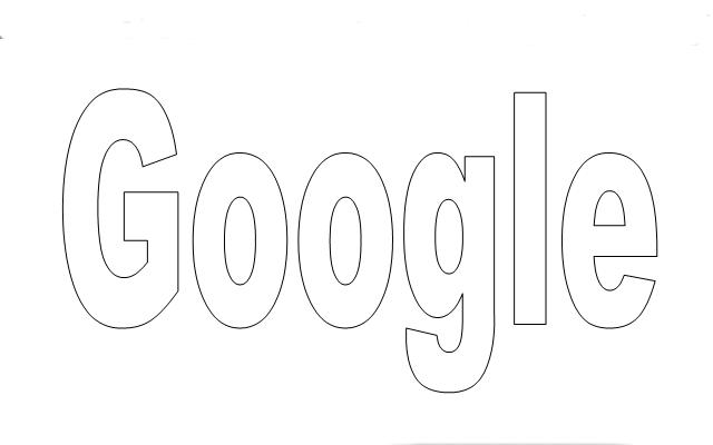 Logo sin color de Google