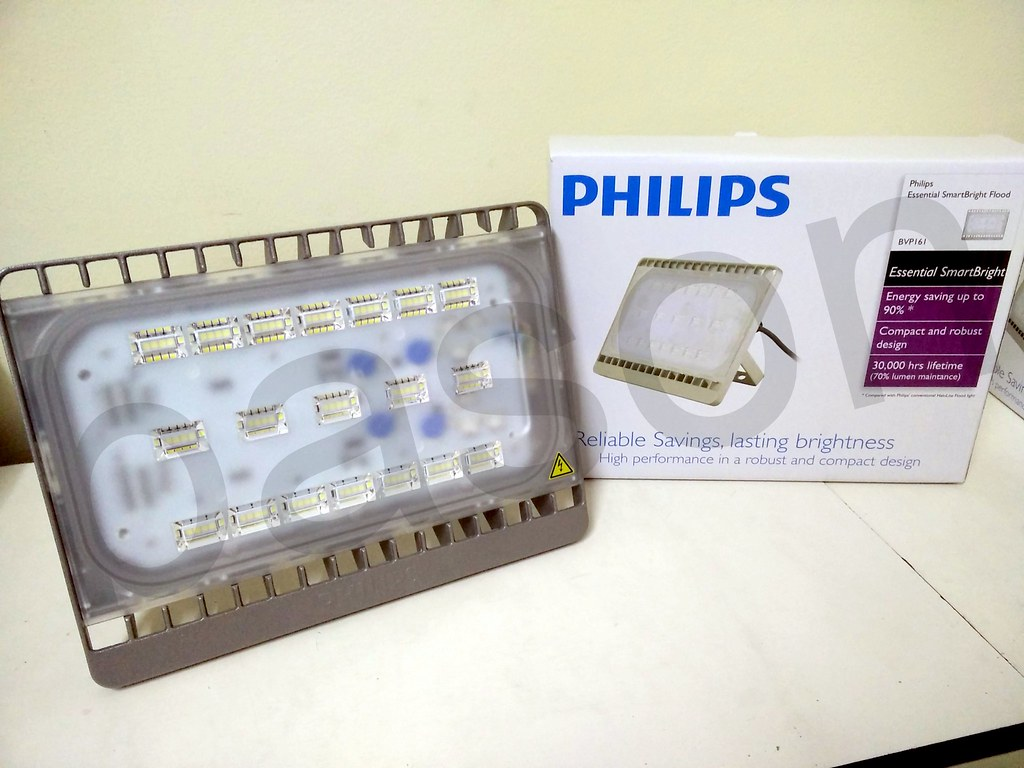 Jual Philips Bvp161 Smartbright Flood Light Led Lampu