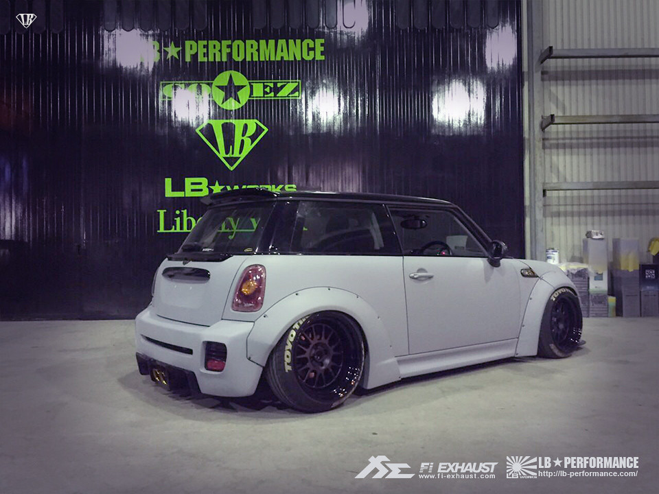New Mini Cooper >> Liberty Walk Mini Cooper S R56 with Fi Exhaust | Liberty Wal… | Flickr
