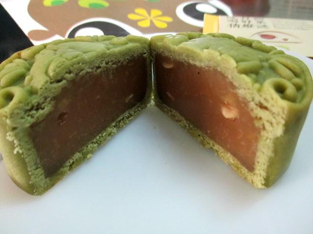 Green tea mooncake 2