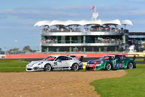 Jayde Kruger, Tom Sharp, Porsche Carrera Cup GB, Silverstone 2015