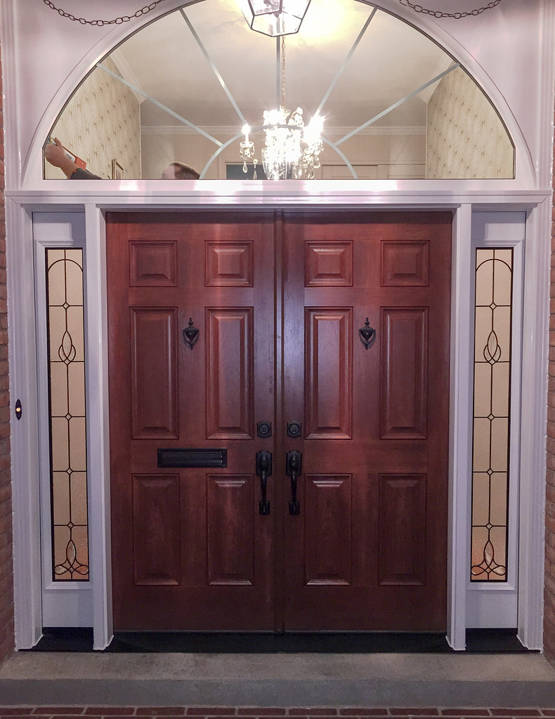 Provia Signet Cherry Fiberglass French Entry Door System Flickr