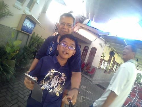 Di Katedral Malang 2016