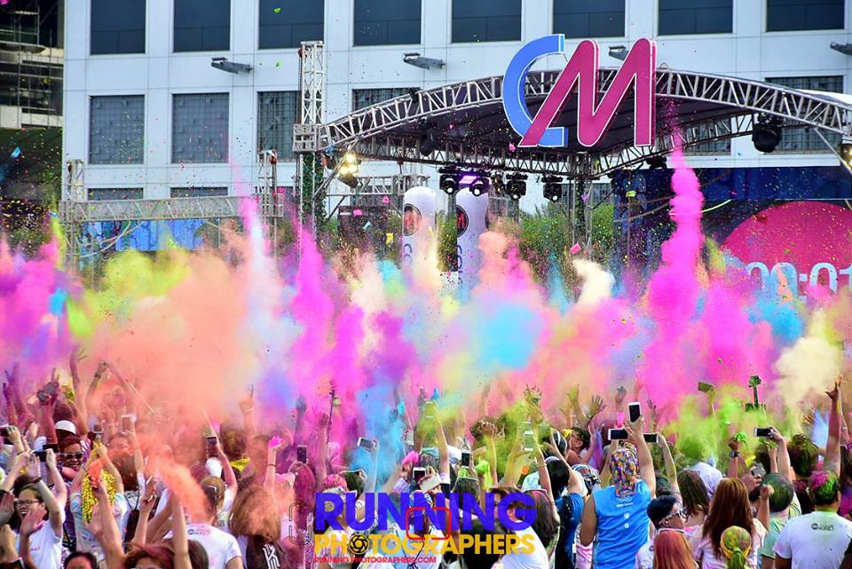 Happy Colorful New Year!!! - Photo by RJ of Running Photographers