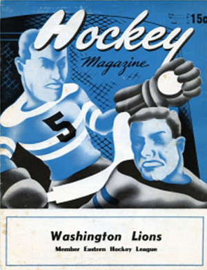 Washington Lions 1951-52 program