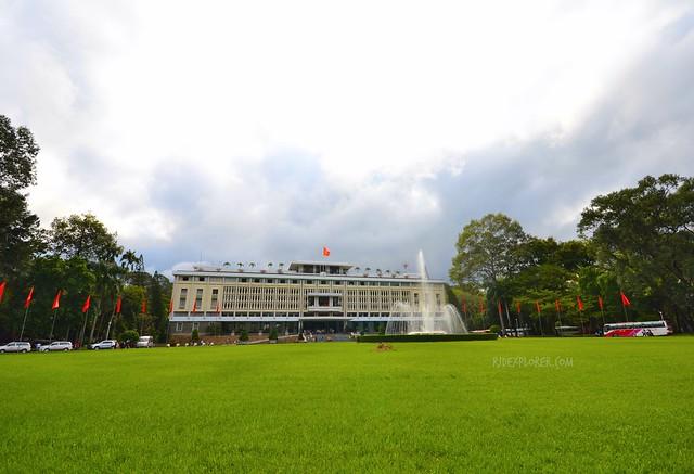 ho chi minh city independence palace