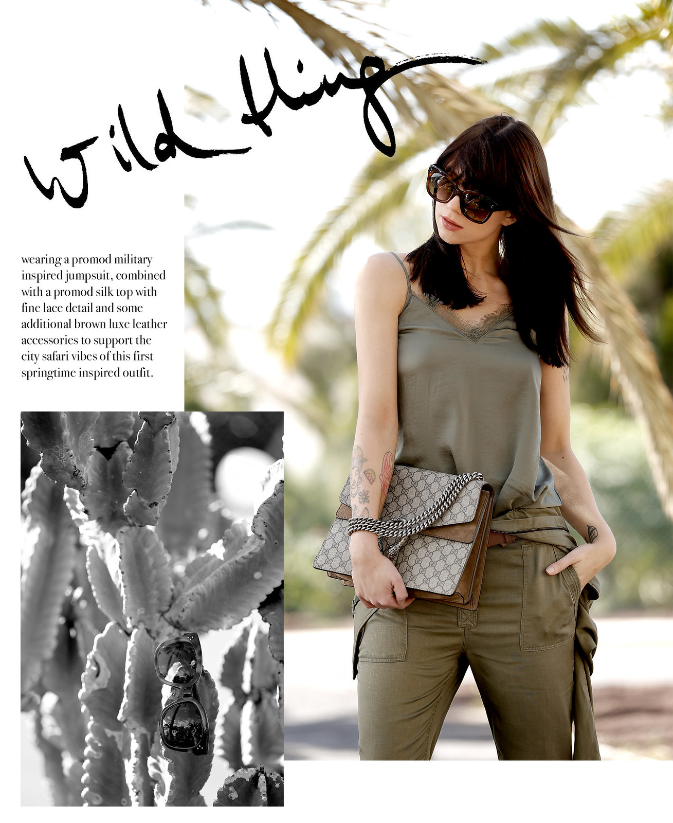 promod african safari jumpsuit khaki outfit ootd blogger modeblogger gucci dionysus céline audrey summer palms travelblogger cats & dogs ricarda schernus düsseldorf blog 7