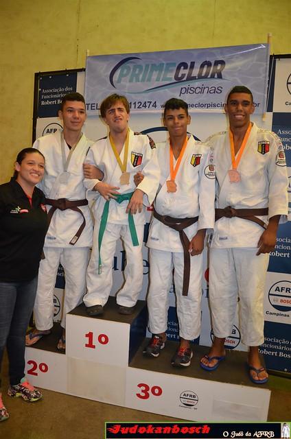 Torneio Estímulo de judô Judokanbosch 12.03.2017 - Pódios
