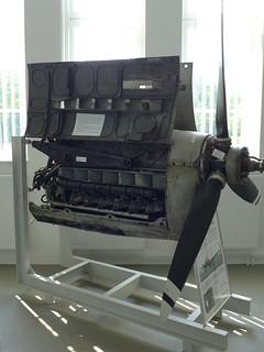 Motorengondel einer Siebel Si 204