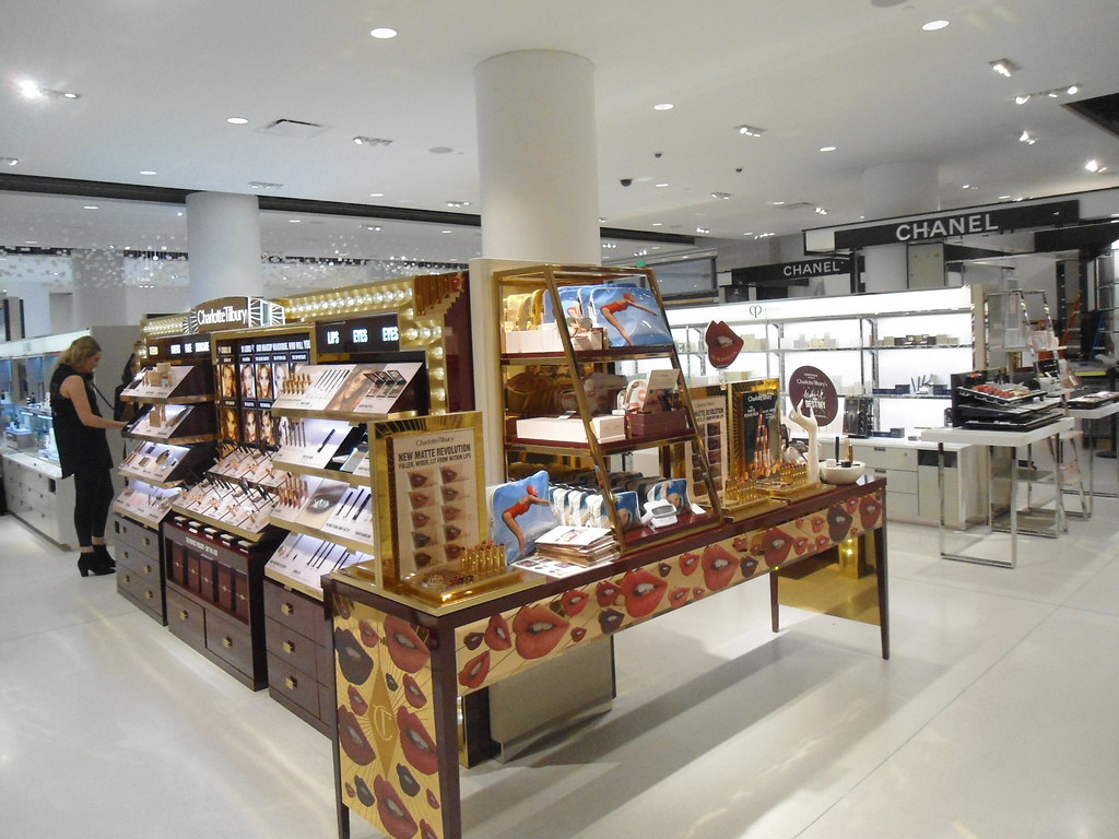 Charlotte tilbury cosmetics at nordstrom newly remodeled c for Paint store seattle