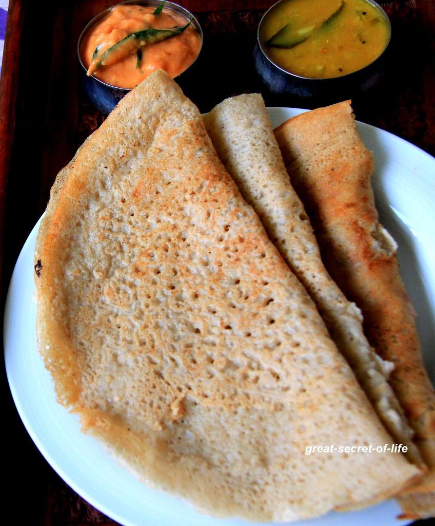 Coconut Jowar Dosa - Sorghum Coconut Dosa - Cholam dosai - Healthy dinner, breakfast recipe - Millet recipes