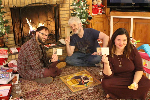 Playing Masterpiece by the Fire on New Year's Eve