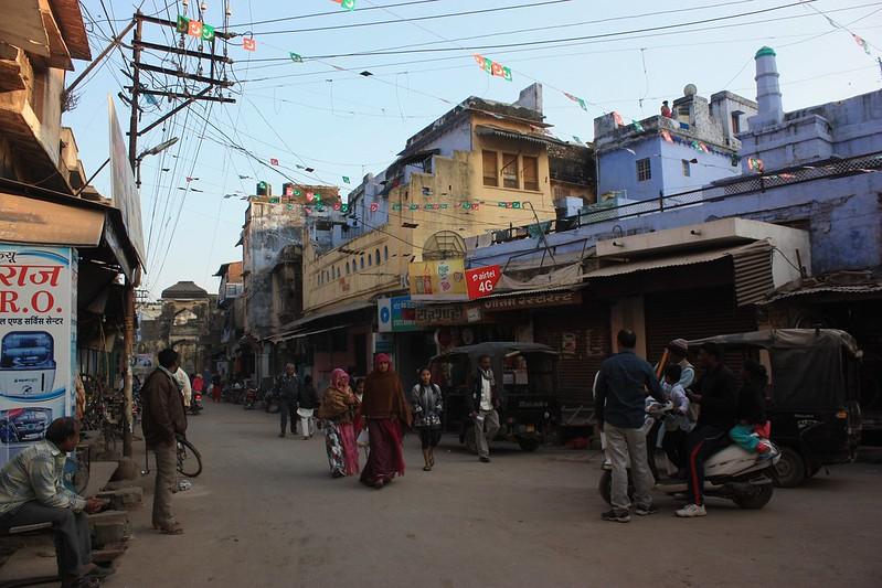 Улицы Бунди Раджастан