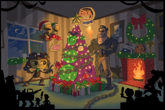 Happy Holidays from Double Fine