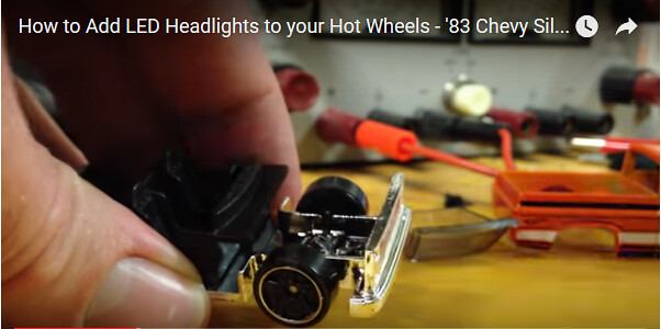 [video] How-to Customize Your Hot Wheels by Adding Working LED Lights!