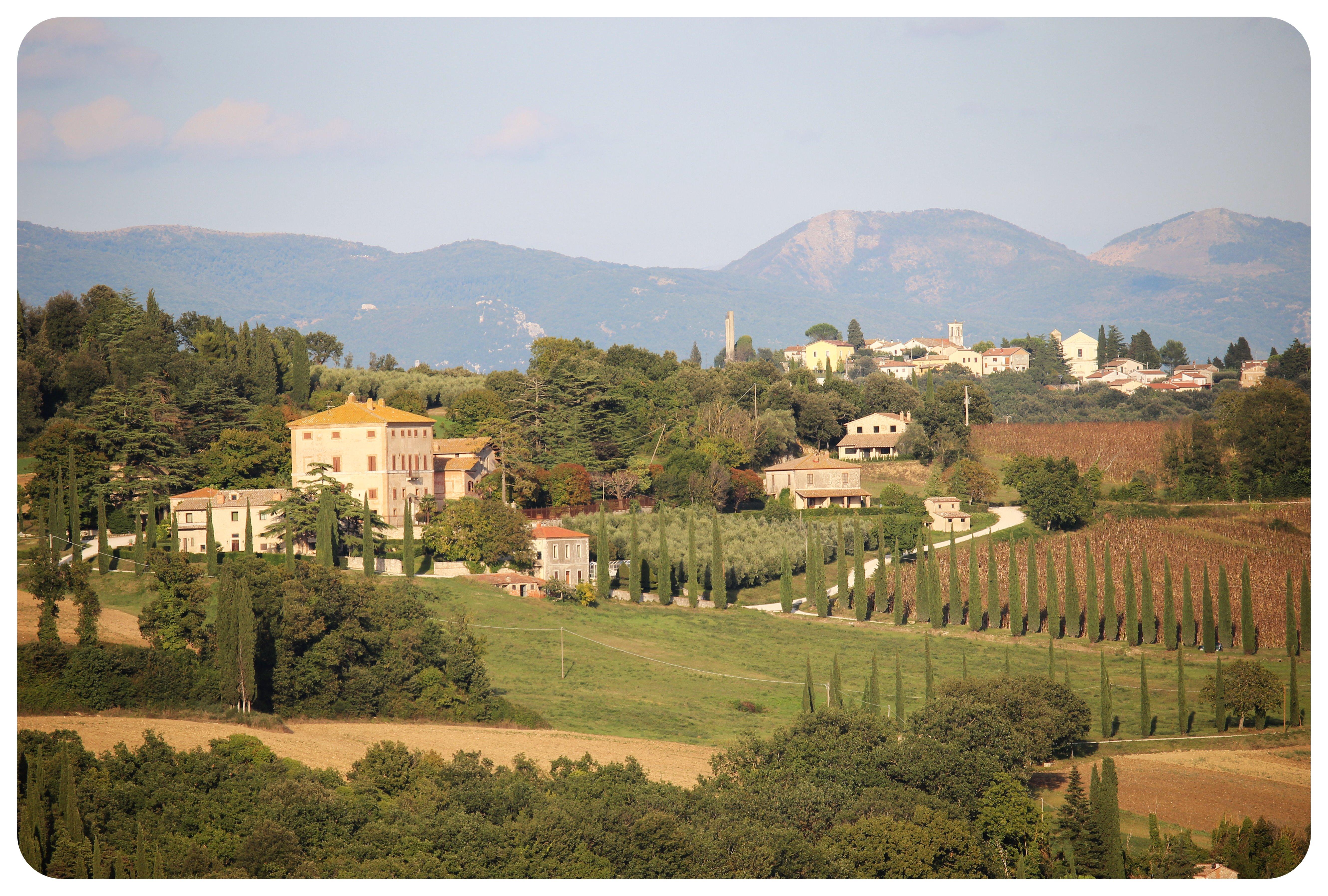 umbria landscape
