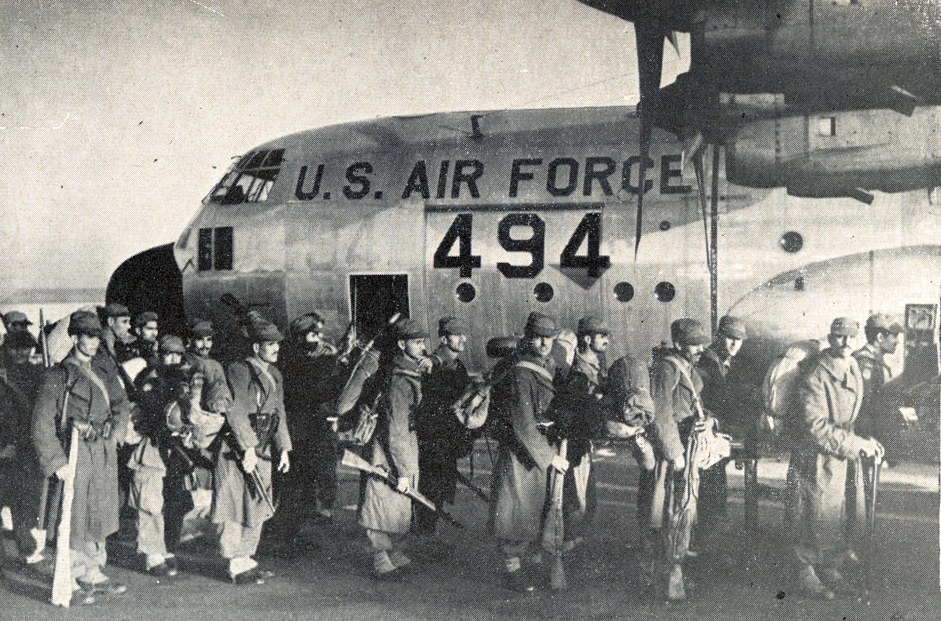Les Forces Armées Royales au Congo - ONUC - 1960/61 32196314512_295d280923_o